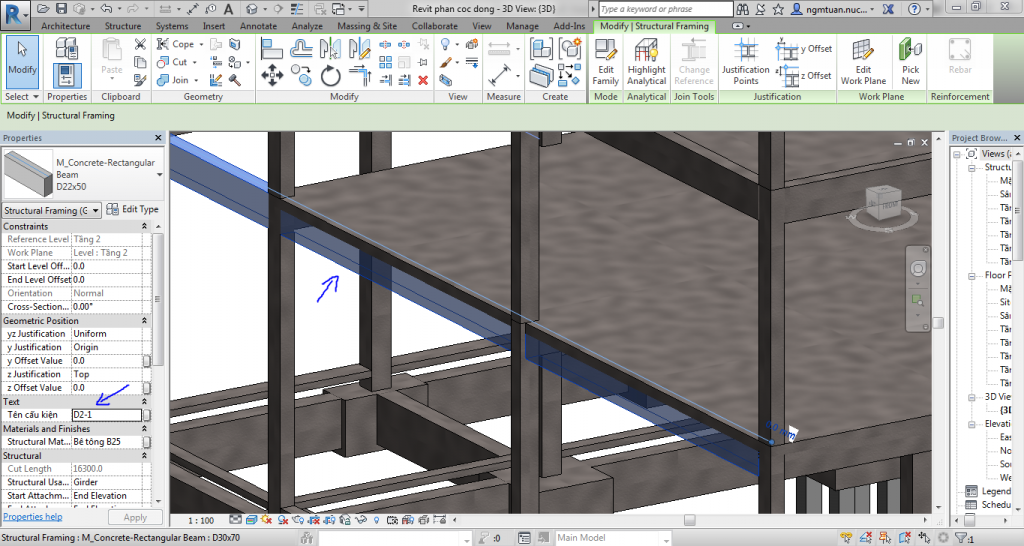 shared parameter trong revit