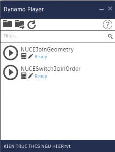 Ứng dụng Dynamo cho Join Geometry & Switch Join Order trong Revit