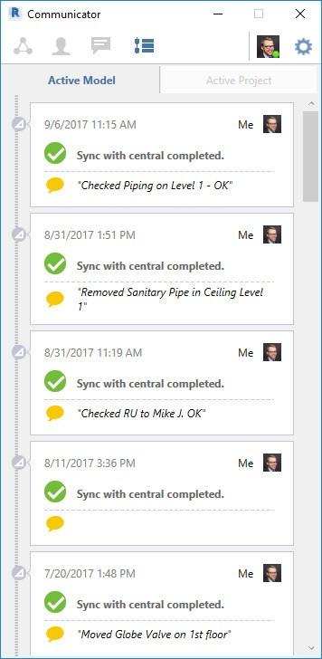 tính năng Collaboration for Revit